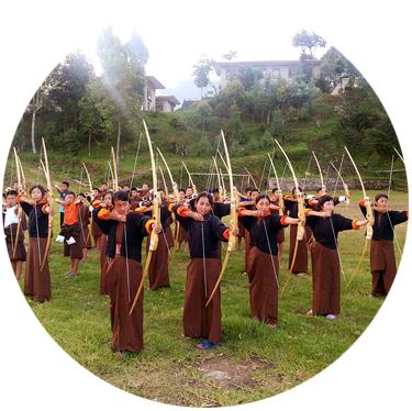 BAF East Campaign Bhutan Archery Federation