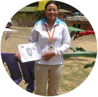Dorji Dolma Bhutan Archery Federation