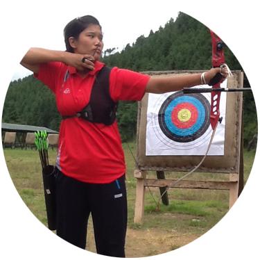 Sonam Dema Bhutan Archery Federation