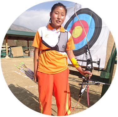 Yeshi Dema Bhutan Archery Federation